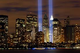 9-11 Two Towers in Lights Memorial