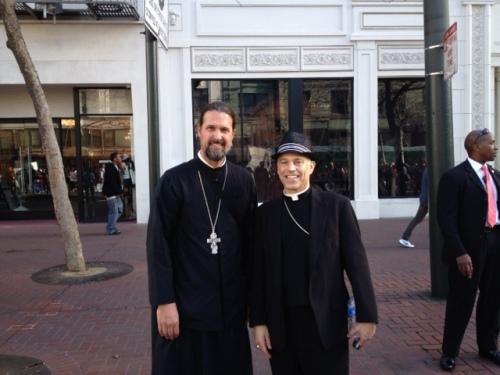 Archbishop Cordileone and Myself at Walk For Life